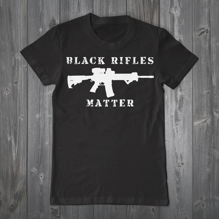 Black-Rifles-Matter'-top-selling-T-shirt-Urban-Shield-Expo-2015, Turn Urban Shield into a peacetime mobilization, Local News & Views