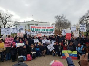 ANSWER-protests-attacks-on-Venezuela-and-Cuba-outside-White-House-012619-300x225, Celebrating Alkebulan: African love, Black joy, resistance and futures!, Culture Currents