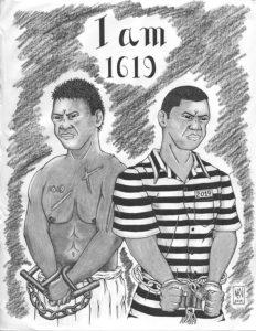 I-am-1619-art-by-Ruben-Beltran-0119-web-232x300, 'He thinks he's Black', Behind Enemy Lines