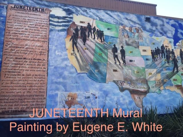 Juneteenth-Black-migration-art-by-Eugene-E.-White, Beloved artist Eugene E. White passes, Culture Currents