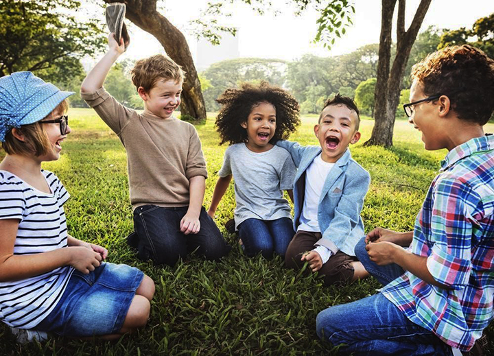 Diverse-group-of-children, Parents and children: The power of play, Culture Currents