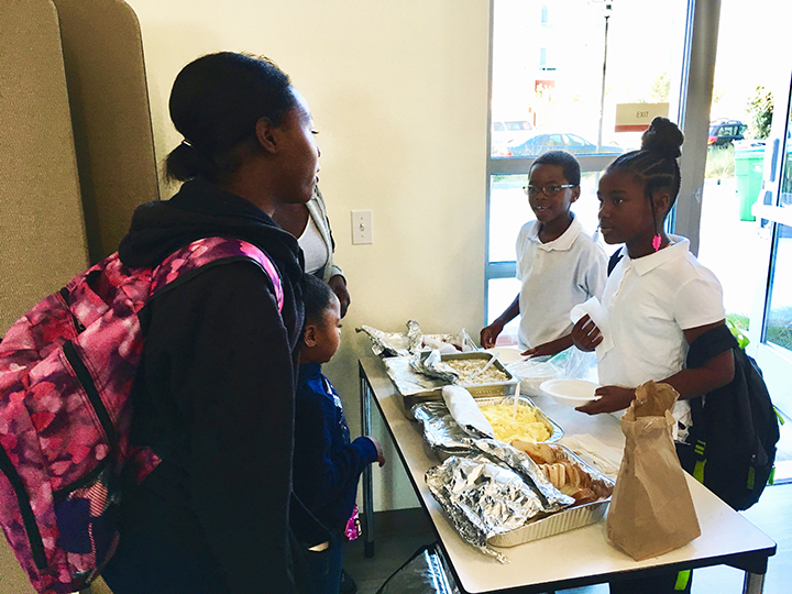 Felton-girl-help-serve-breakfast-Alice-Griffith-0119-by-Lee-Romney-web, How can San Francisco support its most vulnerable Black residents? Help them succeed at school, Local News & Views