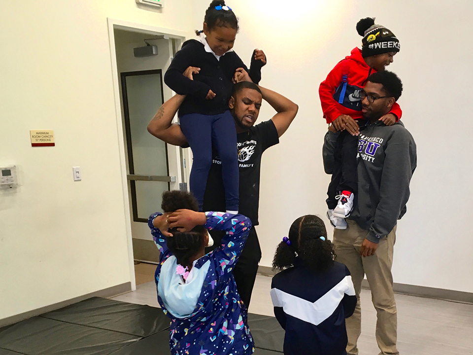 Kevin-Williams-Stephren-Ragler-play-with-kids-mornings-Alice-Griffith-0119-by-Lee-Romney-web, How can San Francisco support its most vulnerable Black residents? Help them succeed at school, Local News & Views