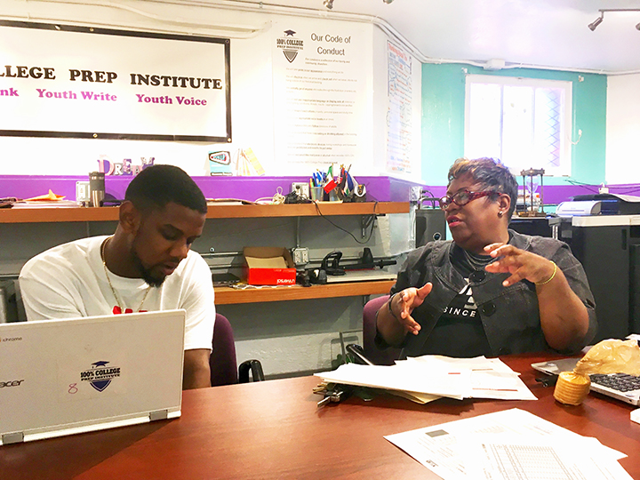 Kevin-Williams-meets-with-Diane-Gray-100-College-Prep-0119-by-Lee-Romney-web, How can San Francisco support its most vulnerable Black residents? Help them succeed at school, Local News & Views