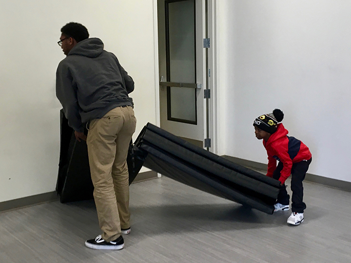 Little-boy-helps-Steph-Ragler-Walking-School-Bus-Alice-Griffith-0119-by-Lee-Romney-web, How can San Francisco support its most vulnerable Black residents? Help them succeed at school, Local News & Views
