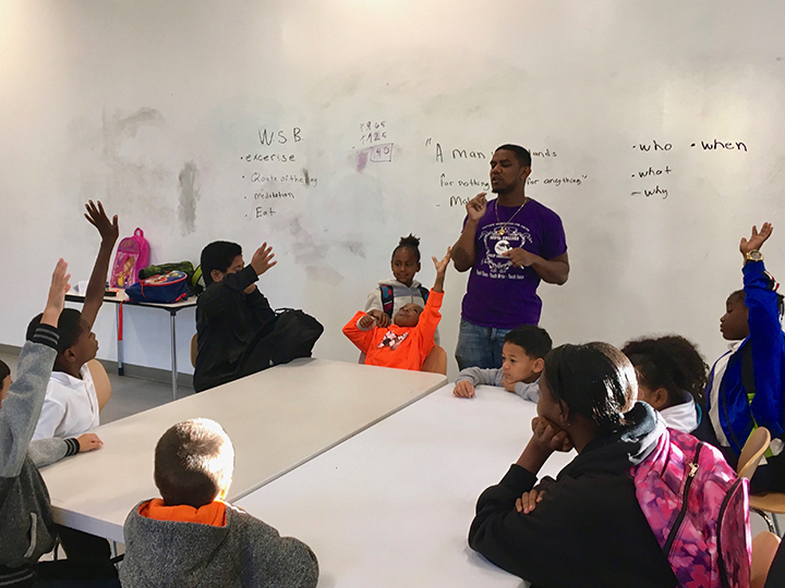 Walking-School-Bus-kids-at-table-Alice-Griffith-0119-by-Lee-Romney-web, How can San Francisco support its most vulnerable Black residents? Help them succeed at school, Local News & Views