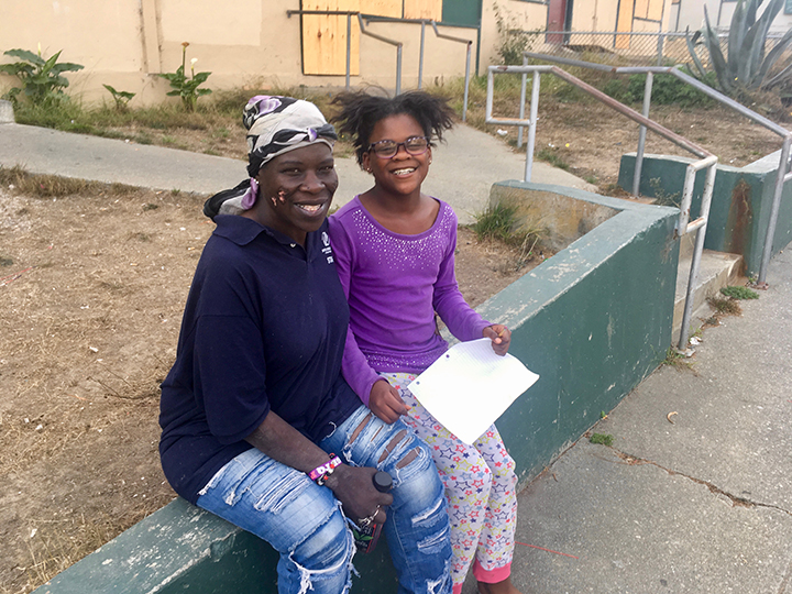 Yvette-Blankenship-daughter-Danielle-Alice-Griffith-0119-by-Lee-Romney-web, How can San Francisco support its most vulnerable Black residents? Help them succeed at school, Local News & Views