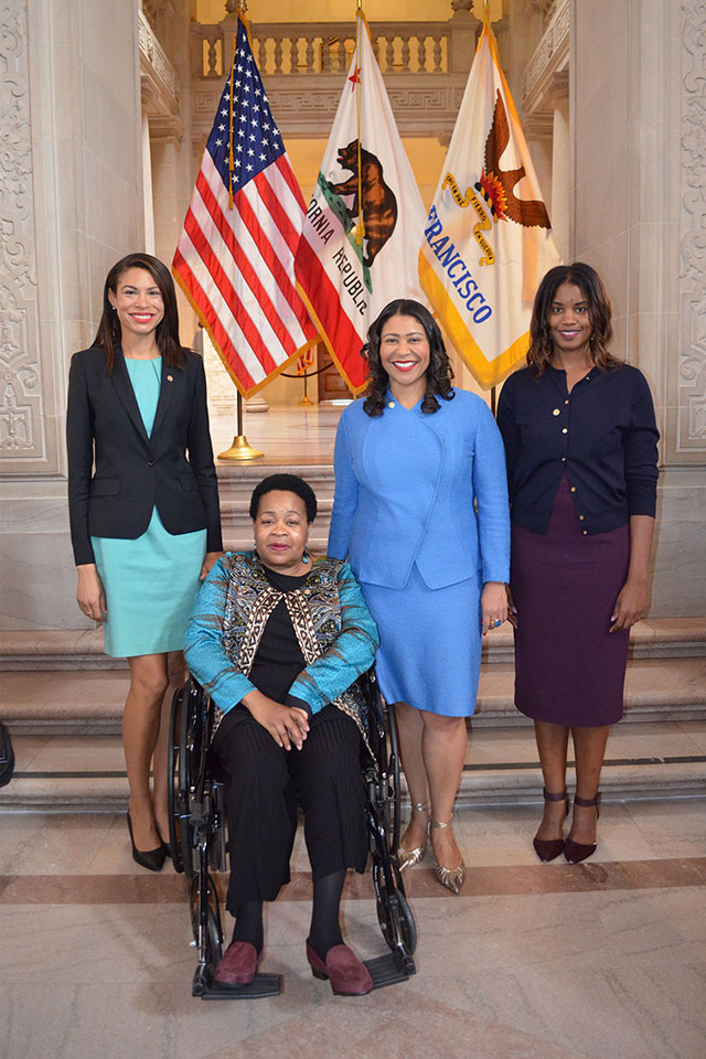 Commissioners-appointed-041919-Breanna-Zwart-Status-of-Women-Belle-Taylor-McGhee-Film-Mayor-Breed-Tyra-Fennell-Film, In appointing 32 new City commissioners, Mayor Breed strives for representation of San Francisco's diversity, Local News & Views