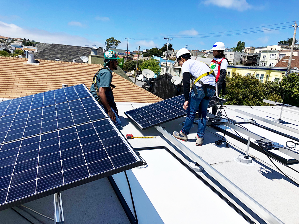 GRID-Alternatives-installs-solar-panels-on-BVHP-home-042019, No-cost solar system for Bayview family, Local News & Views