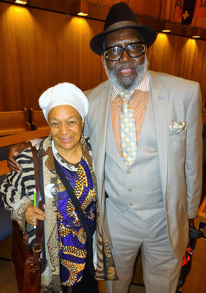 Mumia-Abu-Jamal-Evening-for-Justice-Freedom-Pam-Africa-husband-Razakhan-Wali-040619-by-Wanda, Mumia Abu-Jamal: An Evening for Justice and Freedom unites movement leaders, National News & Views