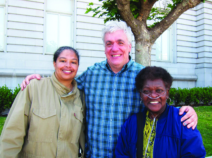 Enviro-heroes-Michelle-Pierce-Tony-Kelly-and-Marie-Harrison-1, To the very last breath: Marie Harrison's epic stand to save Bayview Hunters Point, Local News & Views