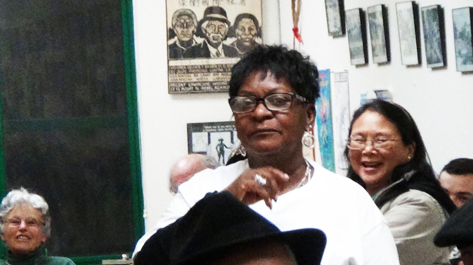 Marie-Harrison-at-a-meeting, To the very last breath: Marie Harrison's epic stand to save Bayview Hunters Point, Local News & Views