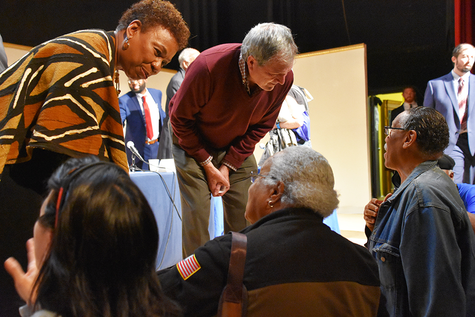 Reps.-Lee-DeSaulniers-Town-Hall-on-Race-at-Black-Rep-042719-by-Erin-Baldassari-cy-DeSaulniers-Office-1-web, In 'Town Hall Conversation on Race,' Reps. Barbara Lee and Mark DeSaulnier trace racism back to the Middle Passage, Local News & Views