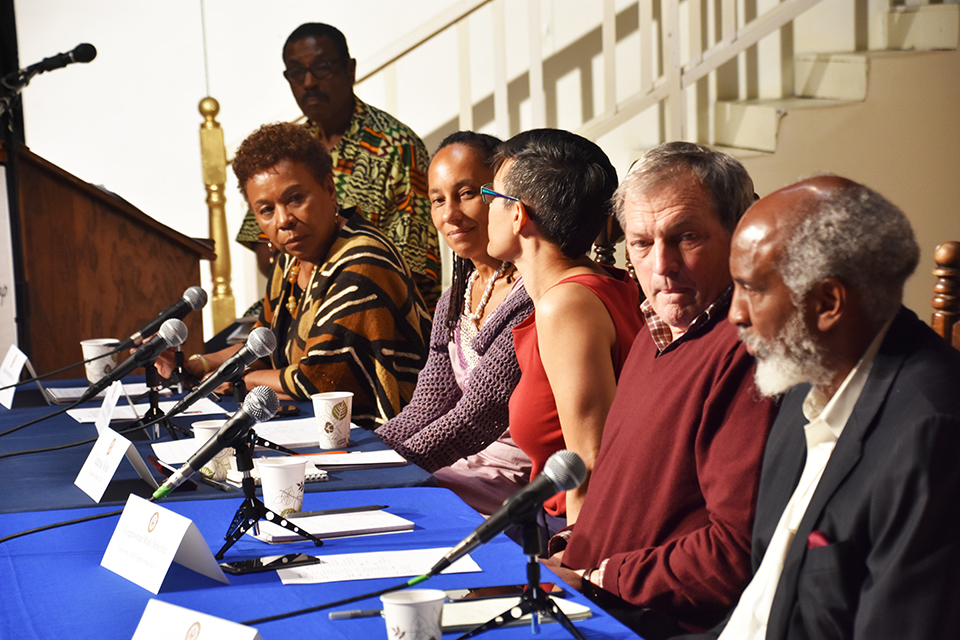 Reps.-Lee-DeSaulniers-Town-Hall-on-Race-at-Black-Rep-042719-by-Erin-Baldassari-cy-DeSaulniers-Office-3-web, In 'Town Hall Conversation on Race,' Reps. Barbara Lee and Mark DeSaulnier trace racism back to the Middle Passage, Local News & Views