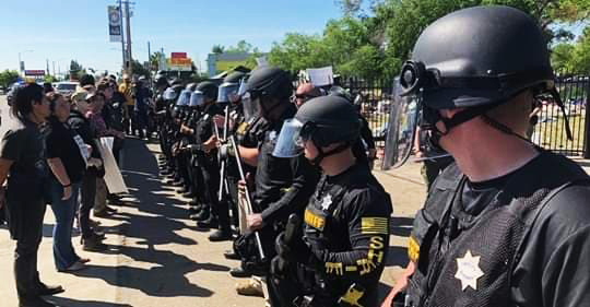 Swat-teams-abuse-unhoused-community-in-South-Sacramento-by-Crystal-Rose-Sanchez, Presence, Prayer and Procession of the Housed for the Unhoused Friday, Local News & Views