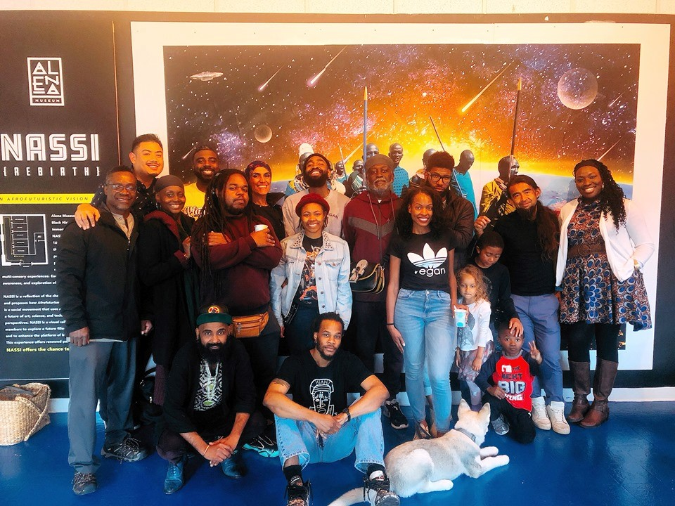 Afro-Vegans-local-from-Africa-at-NASSI-Rebirth-An-Afro-Futuristic-Vision-Quest-at-Alena-Museum-downtown-Oakland-0519-by-Jahahara, Bring our courageous elders home, now!, Culture Currents