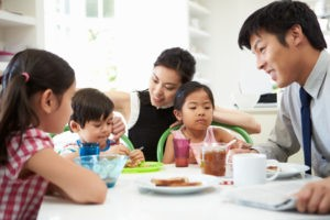 Asian-family-dinner, Reviving the family dinner, Culture Currents