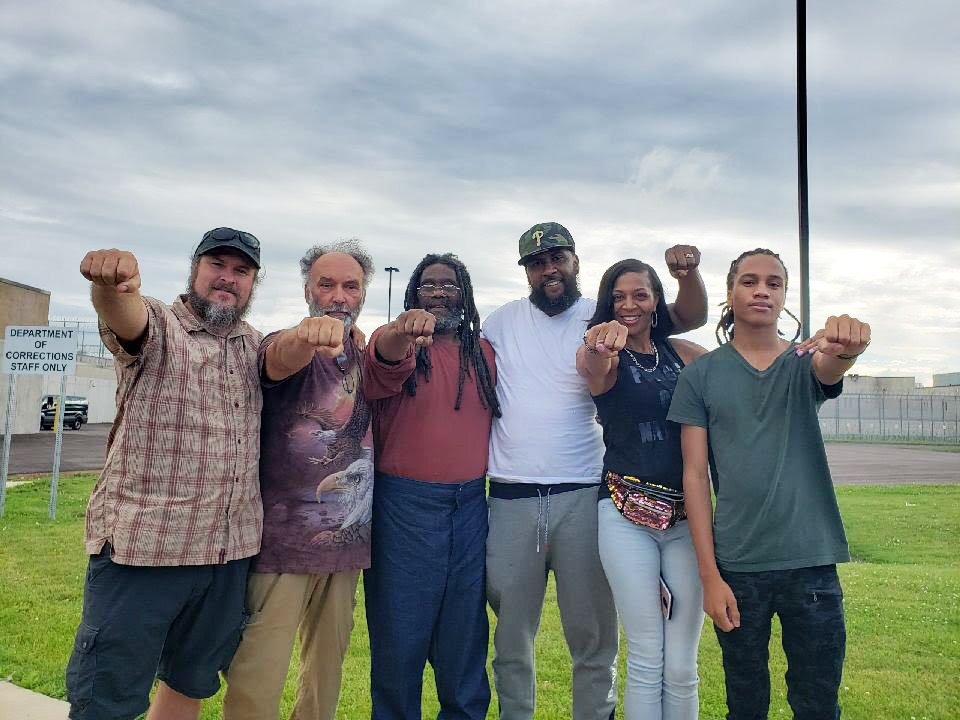 Eddie-Africa-of-MOVE-9-released-at-SCI-Phoenix-w-Abolitionist-Law-Center-Peoples-Law-Office-062119, Eddie Africa of the #MOVE9 is home after four decades of incarceration, Behind Enemy Lines