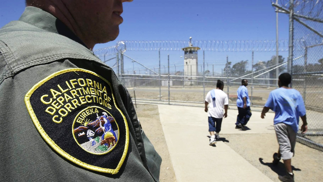 Guard-watches-prison-yard-in-Vacaville-by-Rich-Pedroncelli-AP, Census 2020: Black bodies creating white power, National News & Views