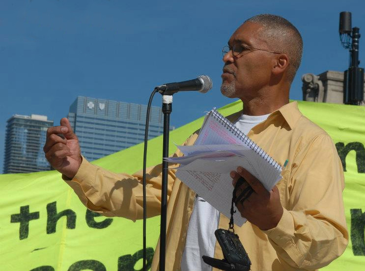 Bruce-Dixon, Bruce Dixon: A giant walks on, National News & Views