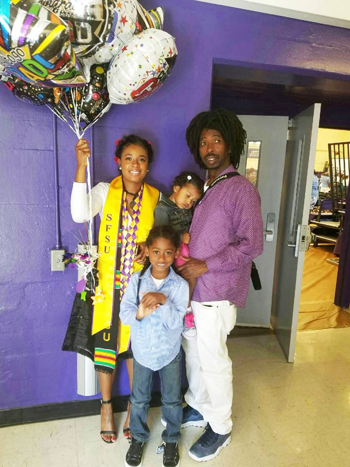 Kevin-Epps-daughter-Tyler-Epps-graduates-from-SFSU-in-Communications-0516, Release my dad, Kevin Epps, on bail, Local News & Views