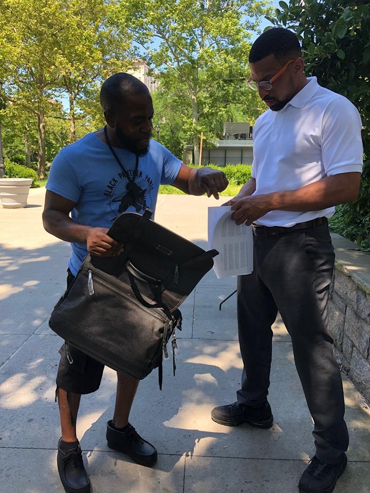 No-Prison-Fridays-Newark-by-Shaka-Zulu-5, No Prison Fridays: Panthers organize shutdown of prison construction project, Behind Enemy Lines