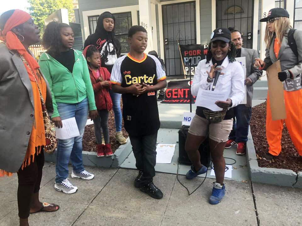 POOR-Aunti-Frances-eviction-protest-youth-report-WeSearch-finding-88-of-unhoused-people-were-first-evicted-0719-by-PNN-1, From eviction to homelessness, Local News & Views