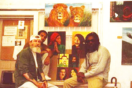 Tom-Manning-UFF-Luis-Rosa-FALN-Merof-'Malik'-Smith-Virgin-Island-5-at-Leavenworth-date-unk, Artist Tom Manning is gone, freedom fighter for Blacks, Natives, workers and all oppressed people, Behind Enemy Lines