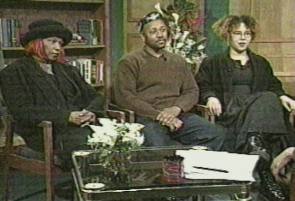 Carolyn-Sumiko-Saulson-co-founders-African-American-Multimedia-Conference-flank-Davey-D-discuss-AAMMC-on-Black-Renaissance-1999, #StokersSoWhite: 2016-2018, the fall of tokenism at the HWA, Culture Currents