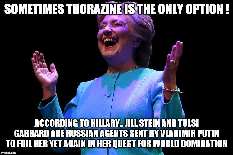 Hillary-Jill-Tulsi-meme, Hillary busts Tulsiasha Gabbardskaya and Jillia Steinakanova: What could go wrong?, National News & Views
