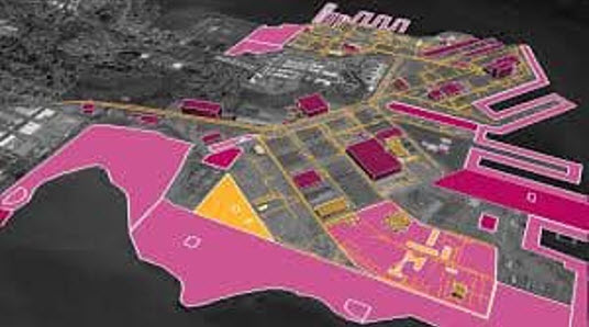 Hunters-Point-Naval-Shipyard-extent-of-radiological-contamination, Power concedes nothing without a demand: Community demands reinstatement of Hunters Point Shipyard RAB, Local News & Views