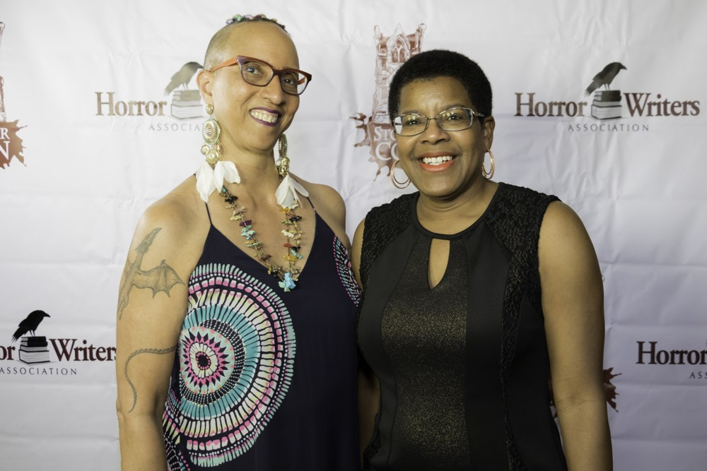 Linda-Addison-Tananarive-Due-at-StokerCon-2017-in-Long-Beach-by-Dave-Duffy, #StokersSoWhite: 2016-2018, the fall of tokenism at the HWA, Culture Currents