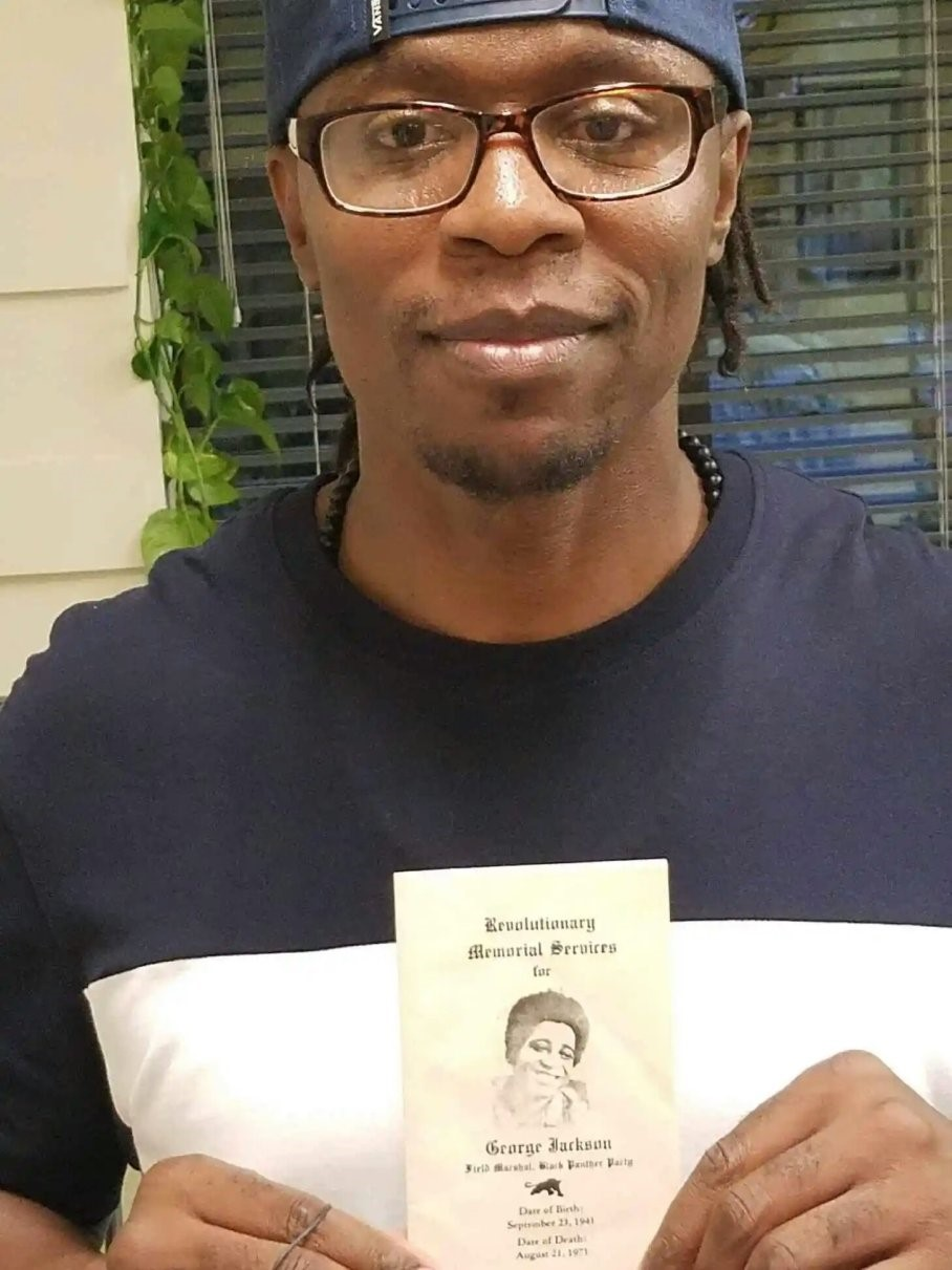 Min.-King-William-E.-Brown-aka-Pyeface-holds-program-for-Revolutionary-Memorial-Services-for-George-Jackson, 30 days after release, prisoner holds fundraiser, Behind Enemy Lines
