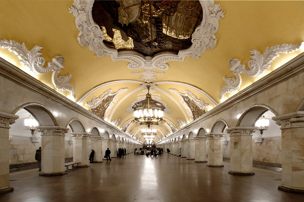 Russian-subway-station-a-'palace-of-the-people', Russian pride and US exceptionalism, World News & Views