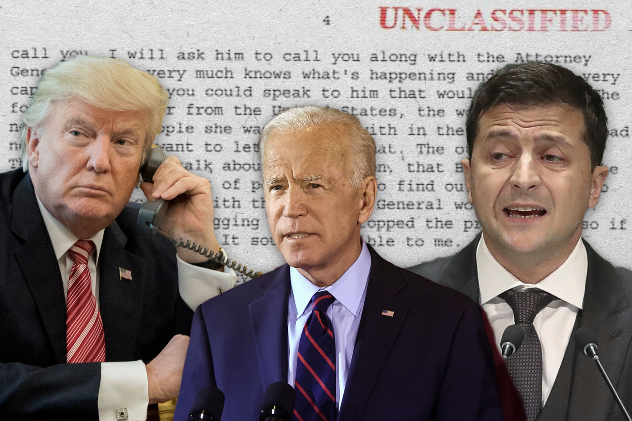 Donald-Trump-Joe-Biden-Ukrainian-President-Volodymyr-Zelensky-by-NY-Post, Donald in the Donbass, Biden in the crossfire, World News & Views