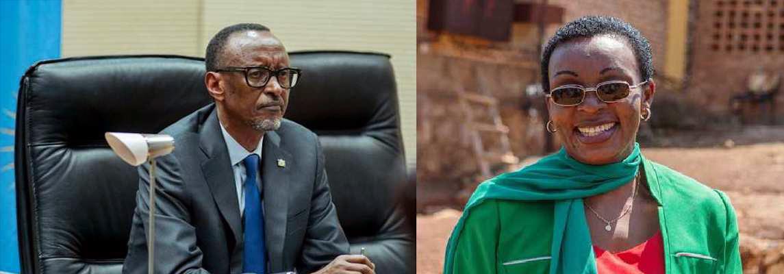 Paul-Kagame-Victoire-Ingabire-2019, Victoire Ingabire walks a knife edge in Rwanda, World News & Views