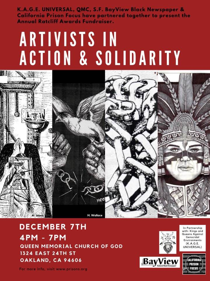 Artivists-1119-1-1, Artivists in Action and Solidarity: Rattle the KAGE Dec. 7, 4-7pm, Culture Currents