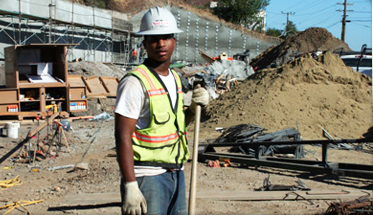 Hunters-Point-Shipyard-worker-2008-by-Lennar, HP Biomonitoring awarded Packard Foundation grant, Local News & Views