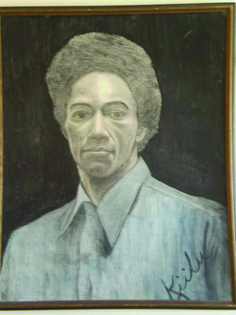 Ruchell-Cinque-Magee-portrait-art-by-Kiilu-1975-1, Restrictions on First Amendment speech rights warrant congressional investigation – later for impeachment, Behind Enemy Lines