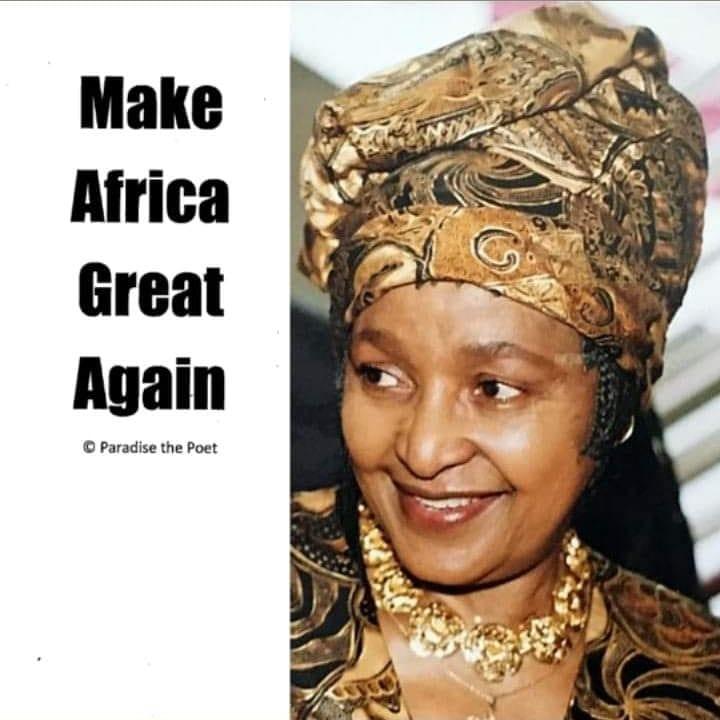 Make-Africa-Great-Again-Winnie-Mandela-by-Paradise, Our 2020 Vision: Make Africa Great Again, Culture Currents