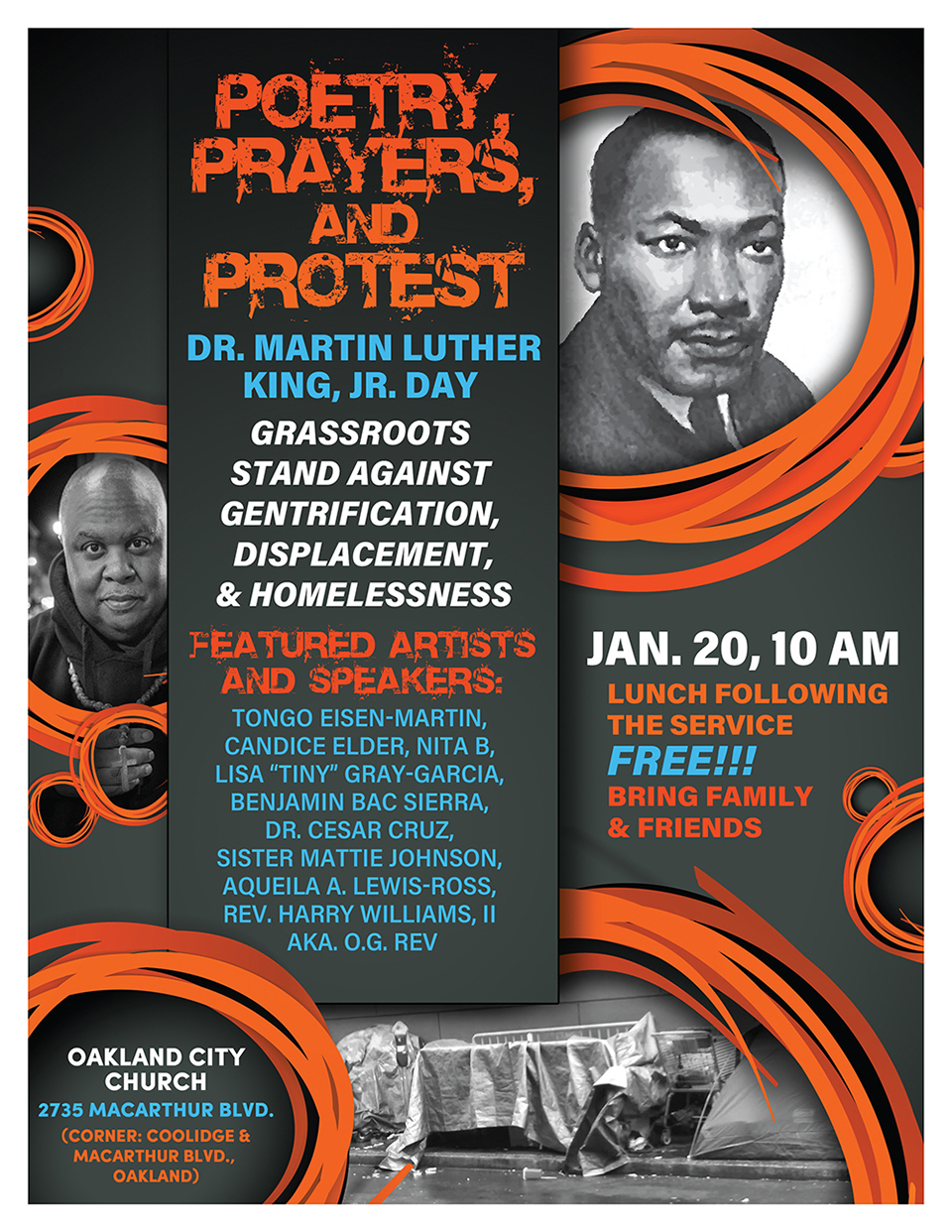 OG-Rev-0120-1, Poetry, prayers, protest against gentrification and displacement planned for MLK Day, Culture Currents
