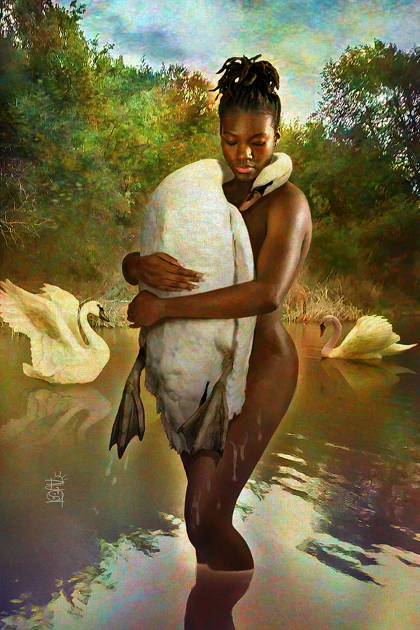 Swan-Lake-art-by-David-Graves, The art of David Bruce Graves' 'Heaven and Earth' – Artist Talk Friday, Jan. 17, Culture Currents