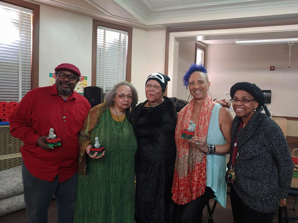 African-American-Multimedia-Conference-panelists-022420-at-Melrose-Branch-Library-Oakland, A feast of Black-centered literary events lit up the Bay Area February 2020, Culture Currents