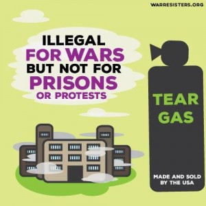 Illegal-for-wars-but-not-for-prisons-or-protests-anti-tear-gas-graphic, Faces full of gas: Abuse of war crimes chemical weapons in Indiana prisons, Behind Enemy Lines