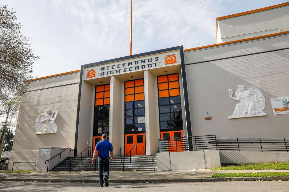McClymonds-High-School-by-Gabrielle-Lurie-SF-Chron, The toxic saturation of West Oakland - Town Hall tonight, Feb. 26, 6:30-8 p.m., West Oakland Senior Center, Local News & Views
