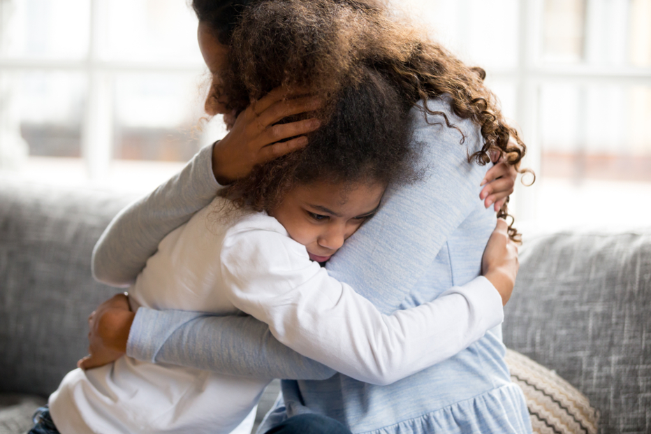 Mother-child-in-crisis-hug-each-other-tight, Parent with ACEs: Is it time to change your parenting playbook?, Culture Currents