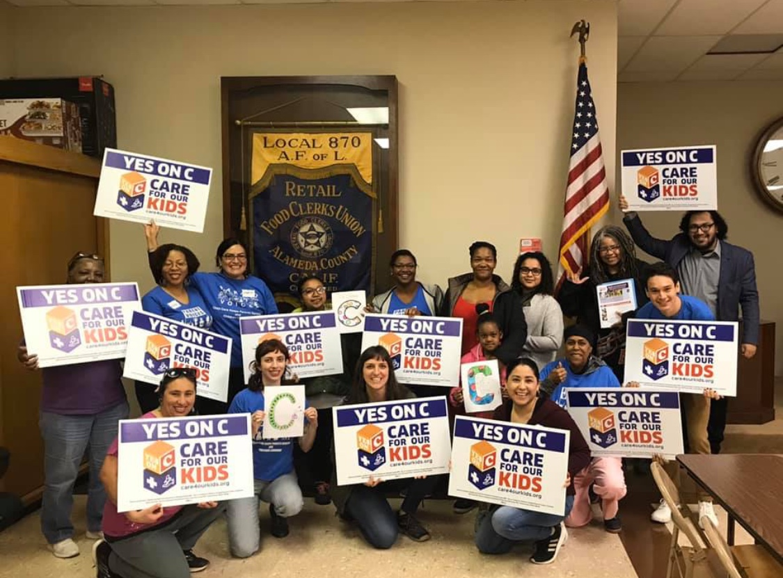 Rally-for-Alameda-County-Measure-C-Child-Care-funding-0220-by-Parent-Voices-Action, Vote Yes on Measure C to empower every child, Local News & Views