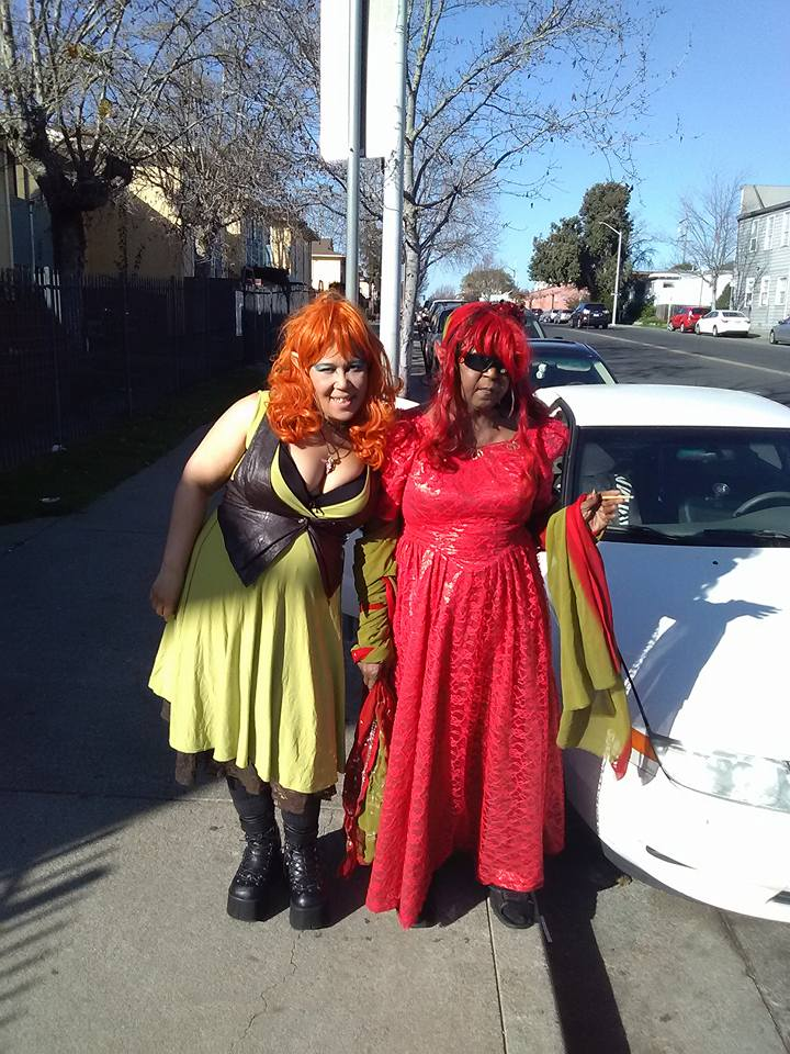 Sumiko-mom-Carolyn-Sauson-as-Leetah-Ember, AfroComicCon does the Black comic book convention Bay Area style, Culture Currents