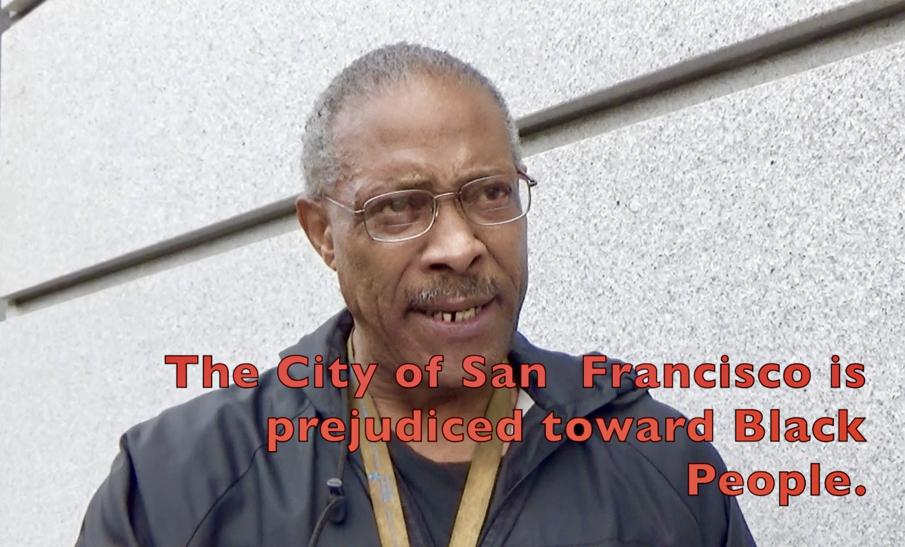Treasure-Island-lawsuit-press-conf-Andre-Patterson-'The-City-of-San-Francisco-is-prejudiced-towards-Black-people-012120-by-Carol, Treasure Island: 'Everybody who put us out there should be in jail for murder and attempted murder', Local News & Views