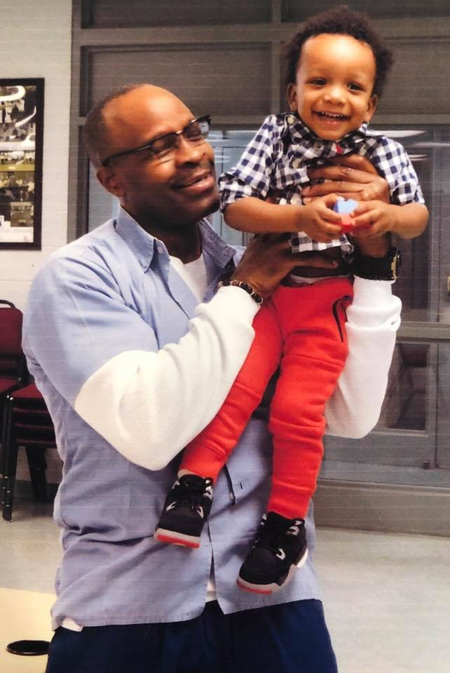 Bomani-Shakur-Keith-LaMar-gets-visit-from-his-nephew-0819, Bomani Shakur: Confront the darkness together to overcome it, Behind Enemy Lines